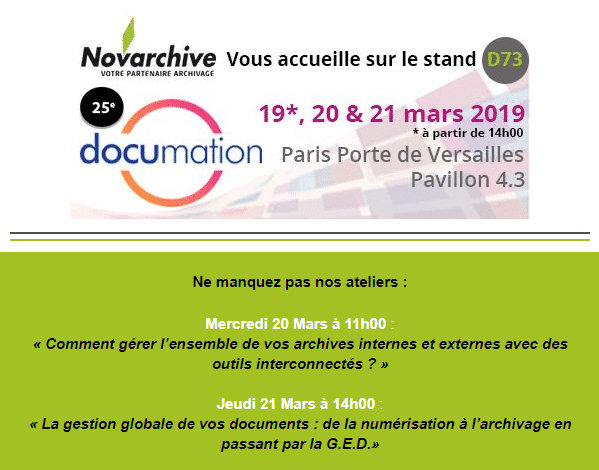 Invitation Documation 2019